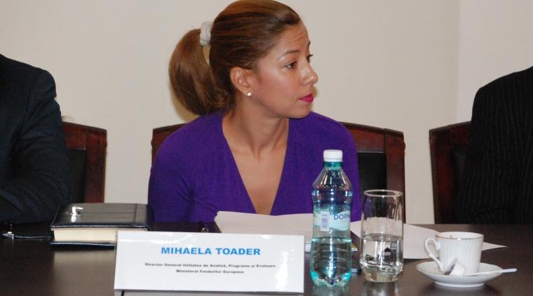 Virginia Toader - Ministerul Fondurilor Europene