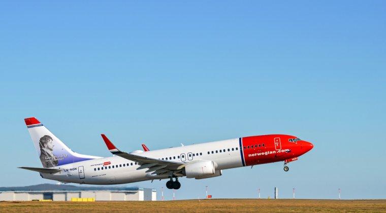 Locul 1: Norwegian Air