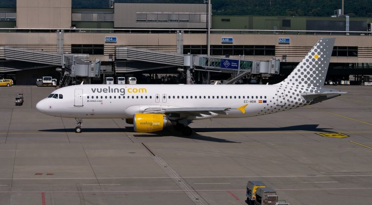 Locul 6: Vueling Airlines