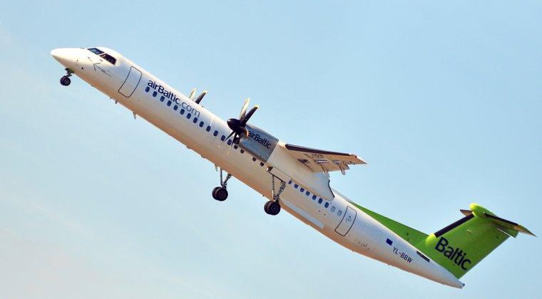 Locul 8: AirBaltic