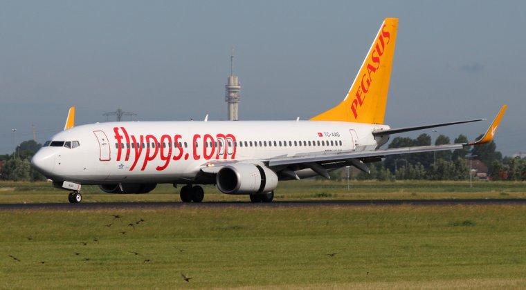 Locul 9: Pegasus Airlines
