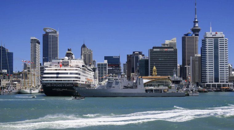 Locul 3: Auckland, Noua Zeelanda