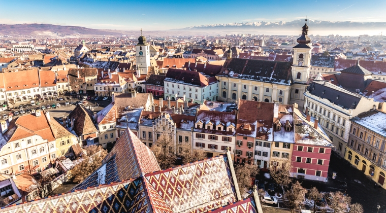 Sibiu: 784 euro / mp