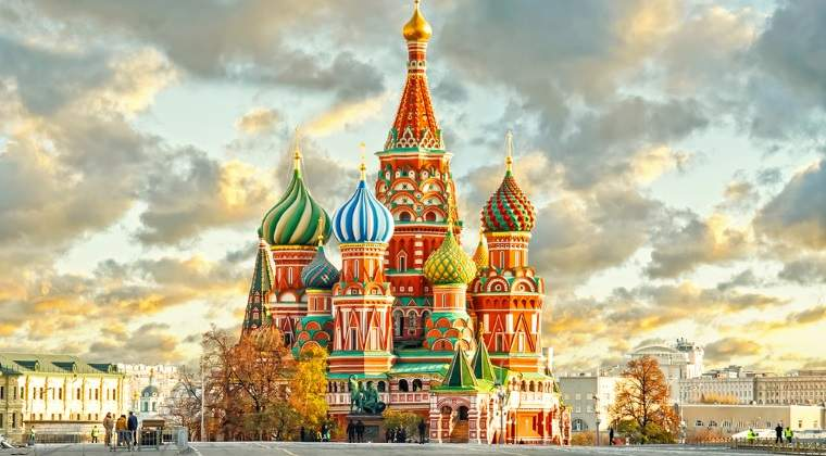 Moscova si Sankt Petersburg