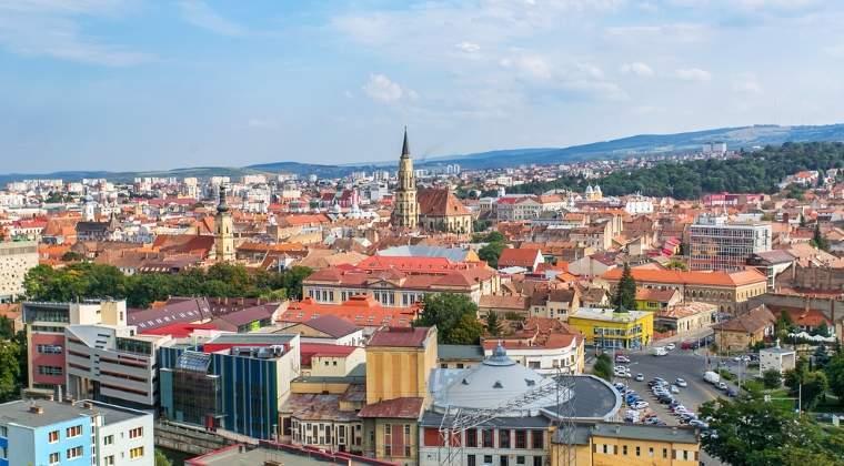 Cluj-Napoca: plus 10% la 6 luni
