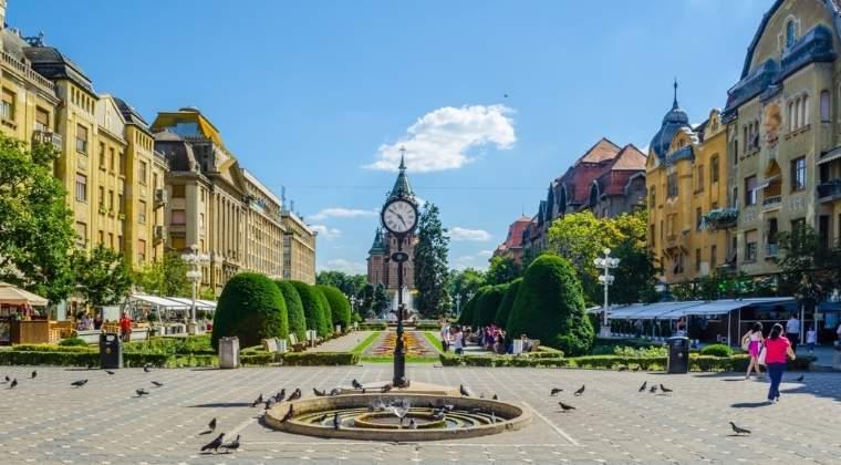 Timisoara: avans de 8,2%
