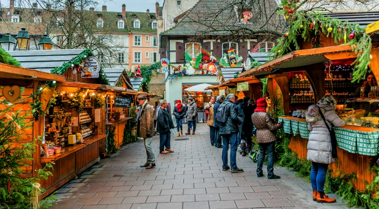 Christkindelsmarik - Strasbourg, Franta
