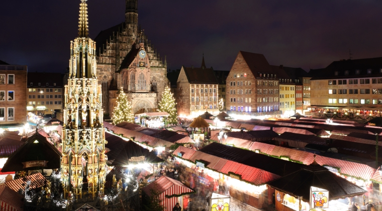 Christkindlesmarkt - Nurnberg, Germania