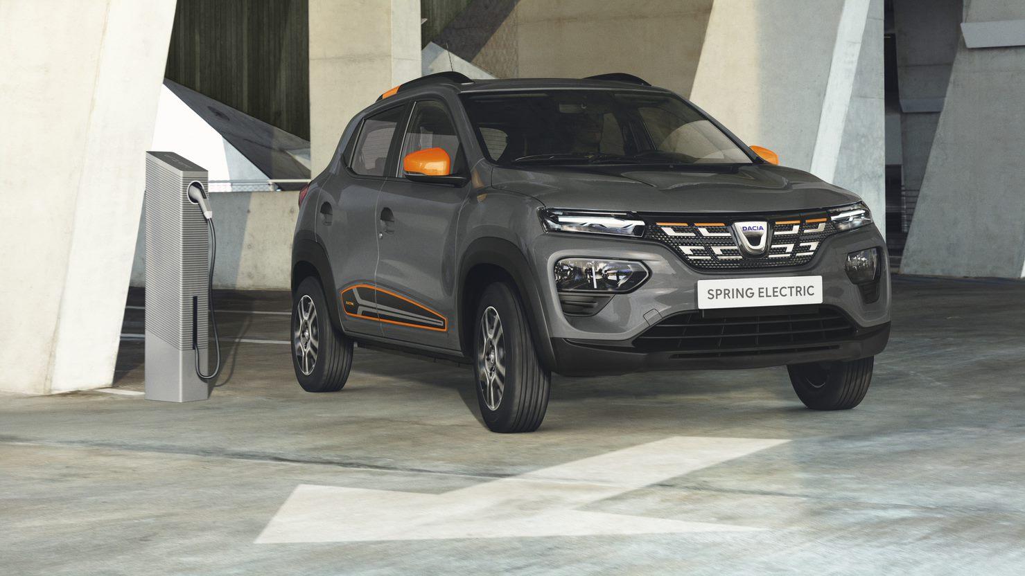Dacia Spring - cca. 17.000 euro