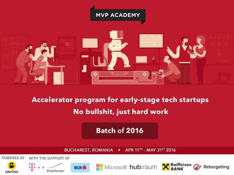 17 startup-uri tech cu potential global admise in programul de accelerare MVP Academy