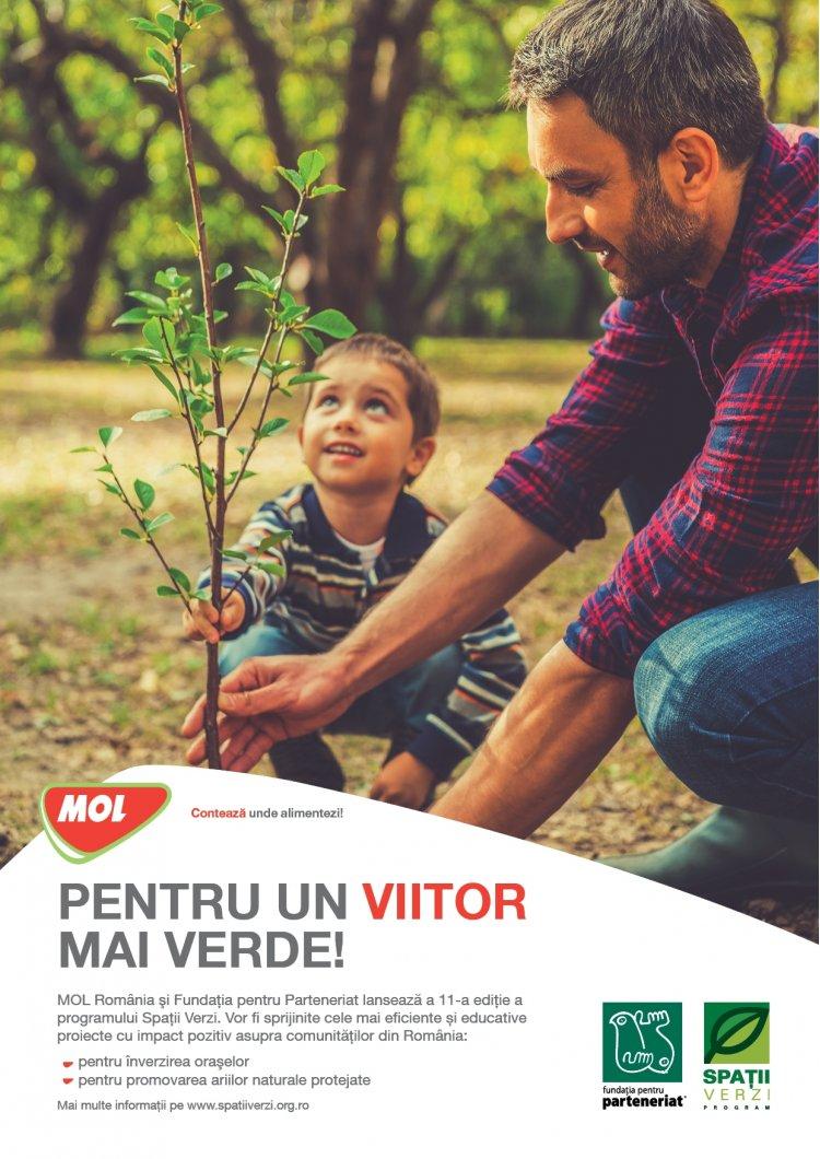 MOL Romania finanteaza cu 661.000 lei un numar de 48 proiecte de mediu
