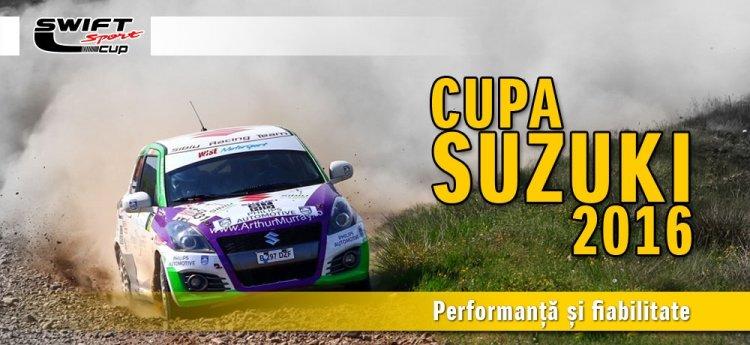 Echipajele din Cupa Suzuki sunt pregatite pentru o noua provocare