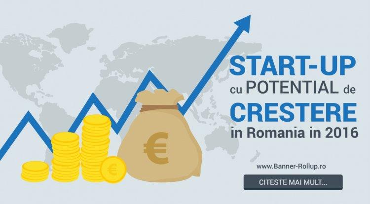Startup cu potential de crestere in Romania anului 2016