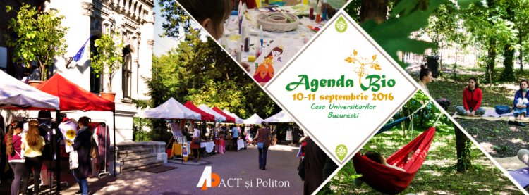 Editura Act și Politon participă la Agenda Bio
