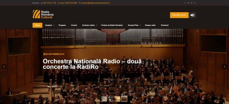 Noul Radio România Cultural, cu Craft Interactive