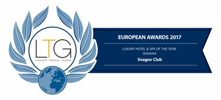 Hotel Snagov Club, premiat în cadrul competiției internaționale Luxury Travel Guide - Europe Awards 2017