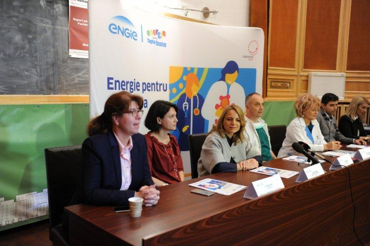 ENGIE Romania, în parteneriat cu Asociația Dăruiește Viață, dotează instituţiile medicale publice din România cu echipa