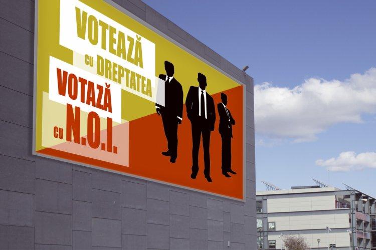Piața de print outdoor din campania electorală