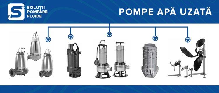 Ce fel de pompe submersibile ai nevoie pentru drenarea apei uzate?