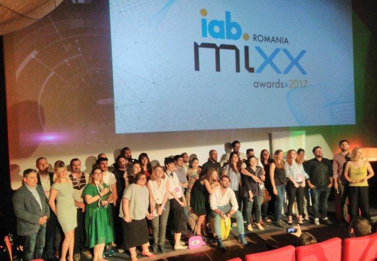 S-au desemnat câștigătorii galei IAB MIXX Awards România