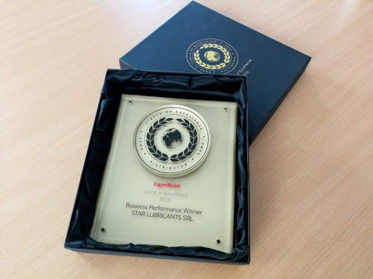 Gigantul american ExxonMobil își premiază partenerul din Romania - Star Lubricants