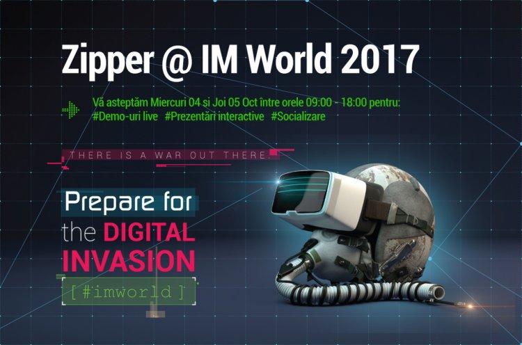 Zipper, partener Internet & Mobile World @ 4 - 5 Oct 2017