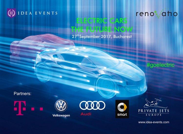 Ultimele noutăti din domeniul electro-mobilității vor fi prezentate la conferința Electric Cars–The Future Now
