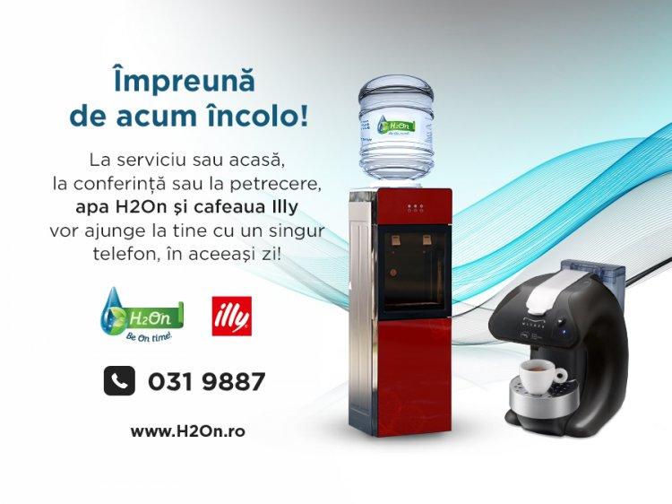 Pachet integrat de servicii Apa H2On si Cafeaua illy!