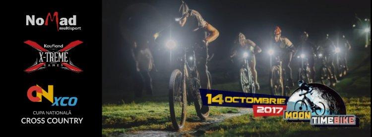 """""""MoonTimeBike"""", cel mai spectaculos concurs de ciclism urban din ţară, revine în Parcul Tineretului"""