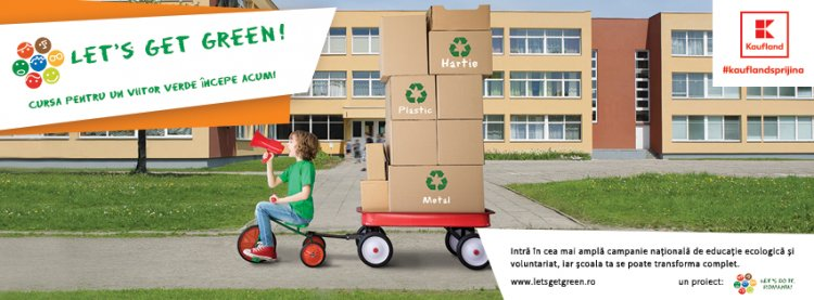 Incepe Let's Get Green! – cea mai ampla campanie nationala de educatie ecologica