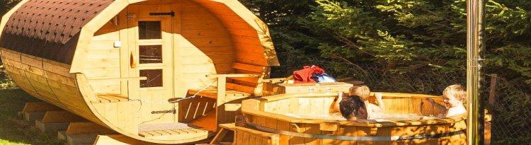 Ciubar și sauna – un mic centru wellness pentru toata familia