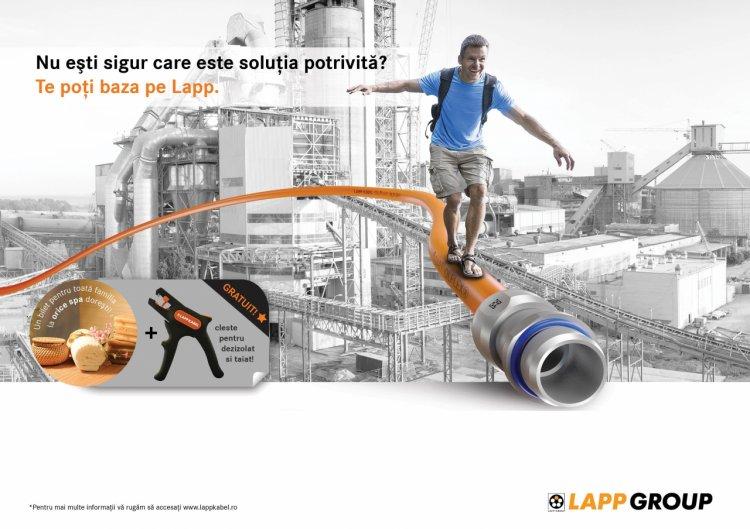 Expertiza tehnica Lapp – cheia catre solutii de cablare reusite