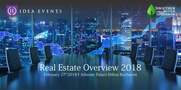 Trenduri și schimbări de paradigmă în industria de real estate din România, la conferinţa Real Estate Overview 2018