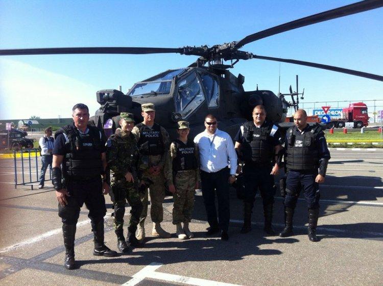 Caldo Privat Security alături de trupele speciale americane