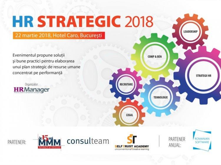 HR Strategic 2018 – Solutii si bune practici pentru elaborarea unui plan strategic de resurse umane