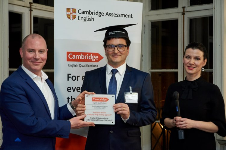 "Prima editie ""Preparation Centre Awards"" organizata de Cambridge Assessment English si-a anuntat primul castigator"