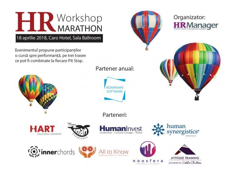 Antreneaza-te la HR Workshop Marathon 2018