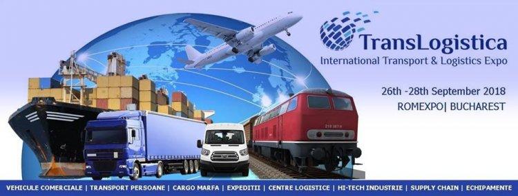 Cel mai mare eveniment de Transport, Logistica, IT si Supply Chain, 26 - 28 septembrie 2018, Romexpo!