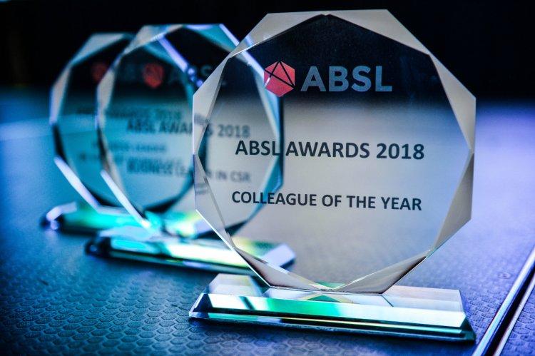 Cele mai apreciate companii din industria serviciilor de afaceri, premiate la Gala ABSL România 2018