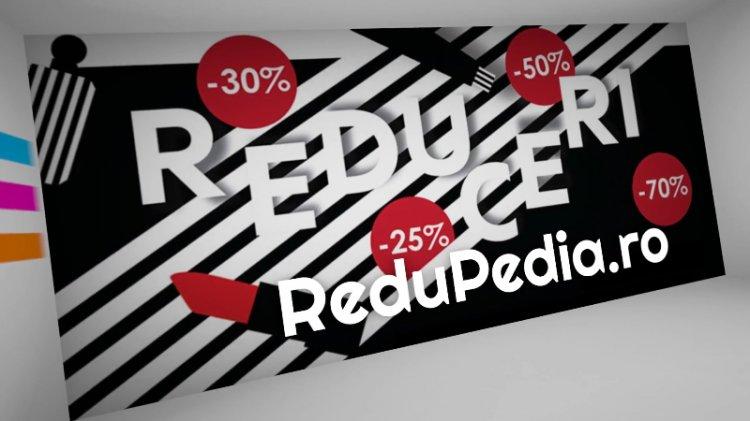 Redupedia.ro - agregator de reduceri cu o noua fata