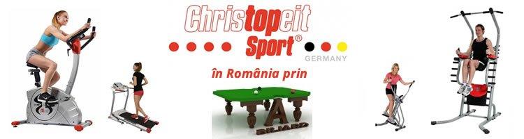 Tat Biliard anunță includerea de aparate fitness Christopeit Sport în oferta proprie