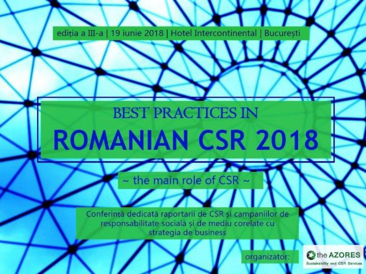 """Cea mai importanta analiza a domeniului responsabilitatii sociale si de mediu din Romania va fi prezentata la """"Best Practices"""