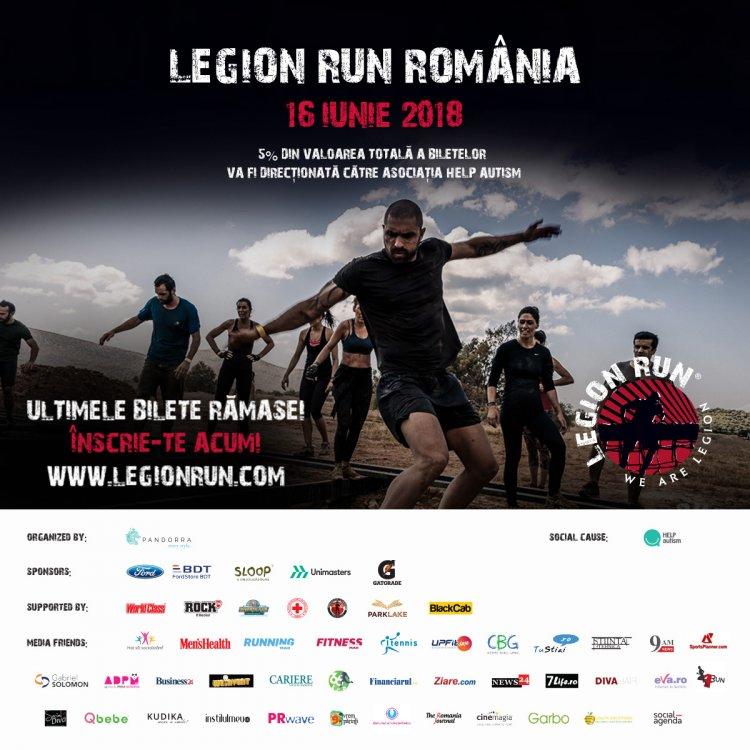Ultimele bilete la Legion Run!