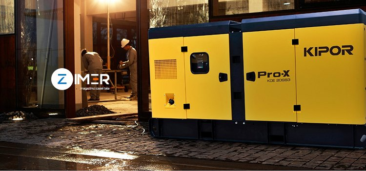 Generatoare electrice – ghid de achizitie conform zimer.ro