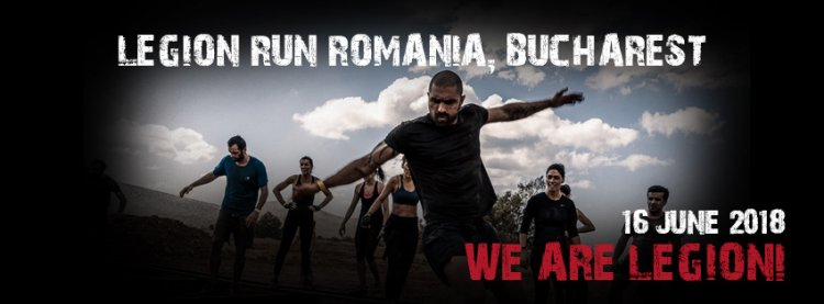 Legion Run Romania - distractia, energia si sustinerea au venit in valuri!