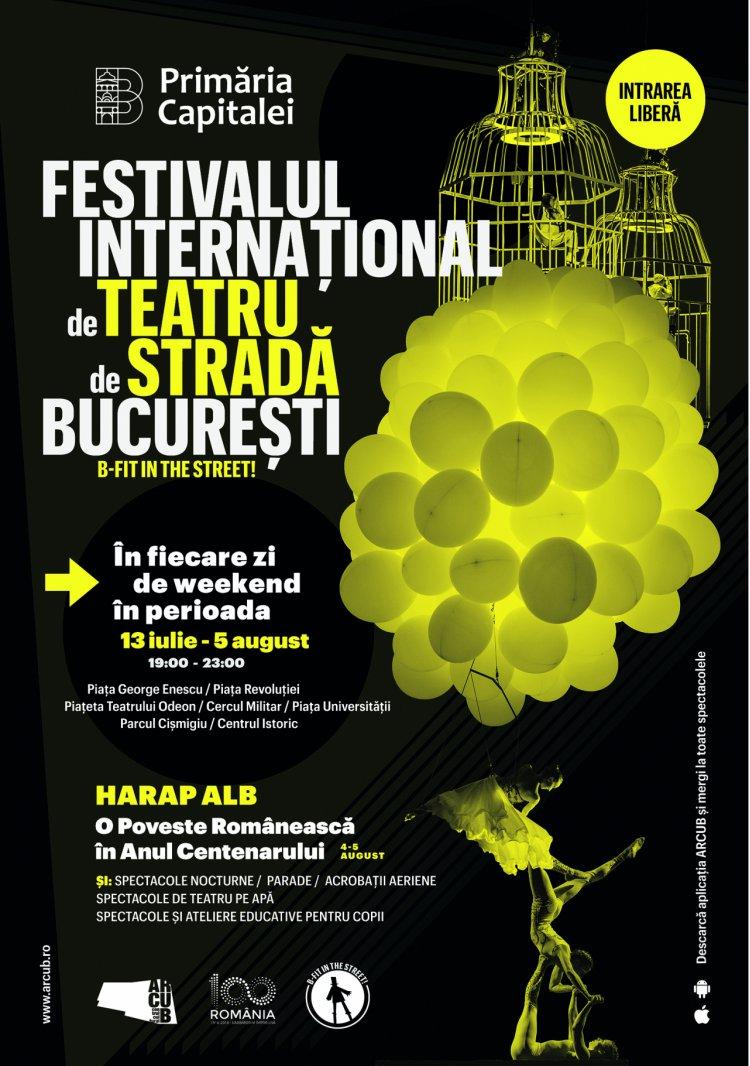 Save the date: ediție aniversară Festivalul Internațional de Teatru de Stradă București