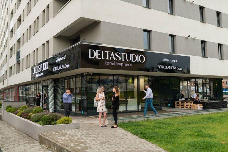 Delta Studio inaugureaza al doilea Showroom in Cluj-Napoca, in parteneriat cu grupul spaniol Porcelanosa