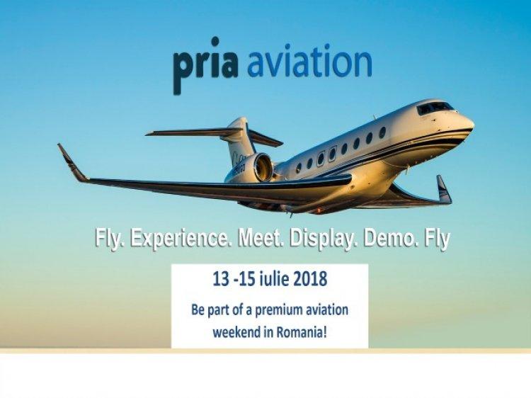 Conferința PRIA Aviation va avea loc la Aeroportul Tuzla in 13 iulie 2018 in deschiderea prestigiosului Show aviatic AEROMANIA