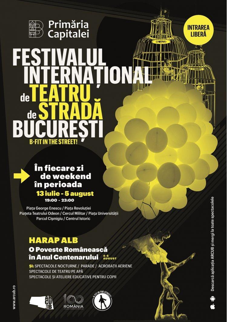Festivalul Internațional de Teatru de Stradă BUCUREȘTI B-FIT IN THE STREET se încheie cu cel mai mare spectacol de stradă