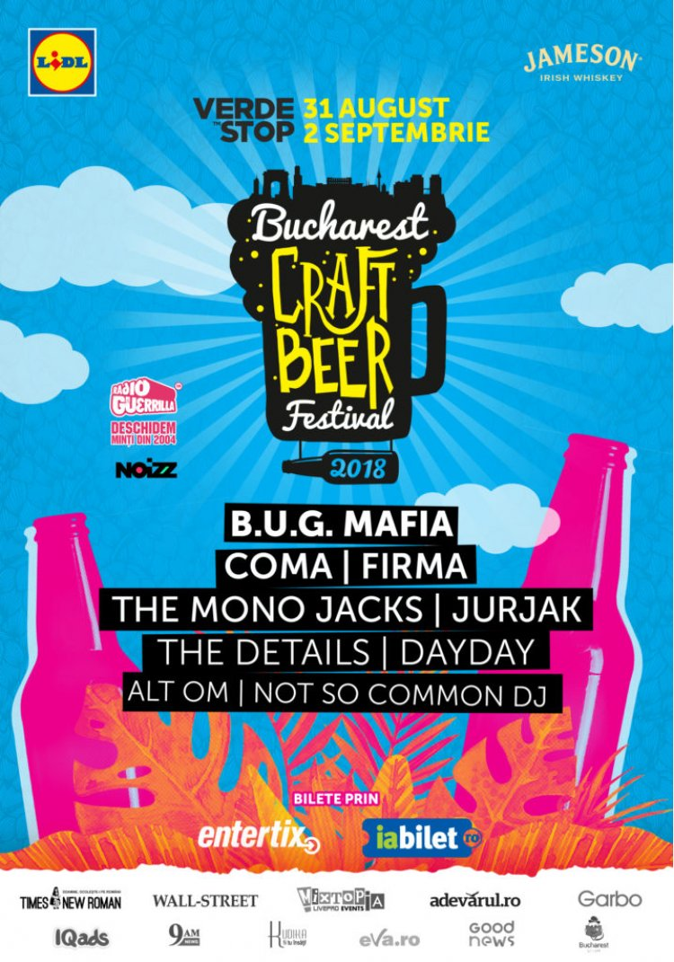Peste 140 de tipuri de bere si cidru la Bucharest Craft Beer Festival